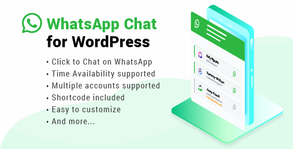 WhatsApp Chat for WordPress v2.4