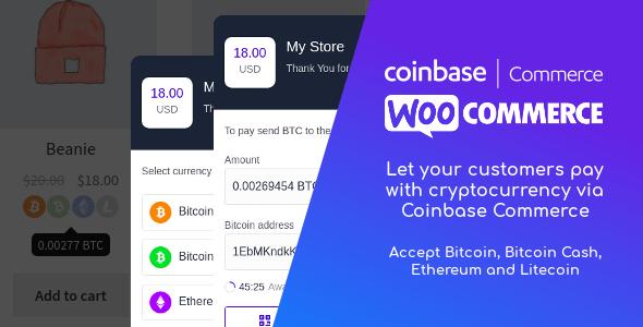 Coinbase Commerce for WooCommerce v1.0.1