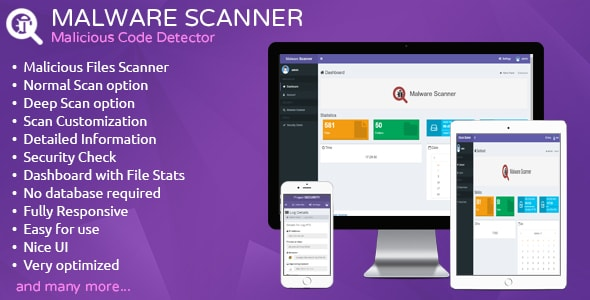 Malware Scanner v1.1 - Malicious Code Detector