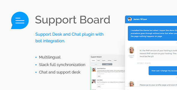 Support Board v1.2.8 – Chat And Help Desk
