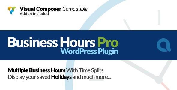 Business Hours Pro WordPress Plugin v5.5.0