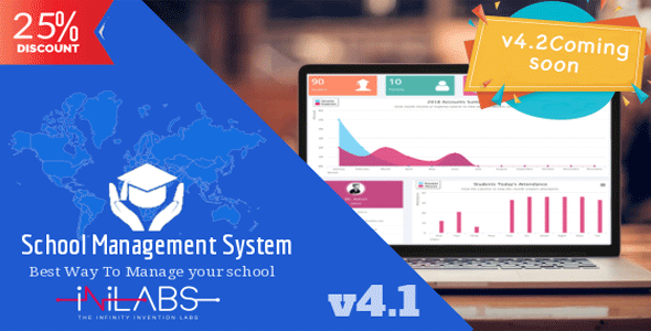 Inilabs School Express v4.1 – School Management System