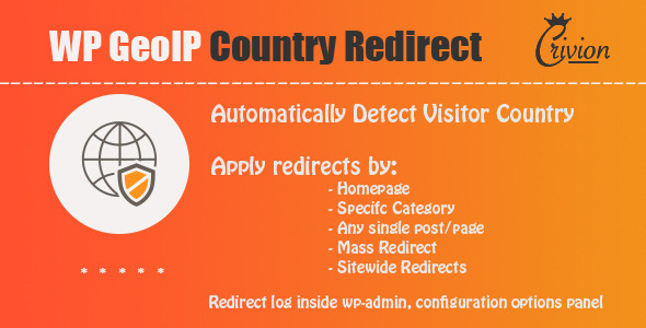 WP GeoIP Country Redirect v3.2