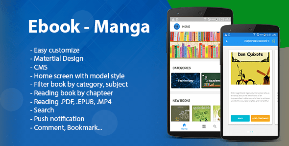 Ebook – Manga – Comic (Read multi format)