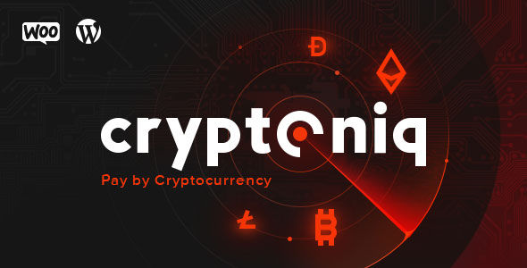 Cryptoniq v1.5 – Cryptocurrency Payment Plugin for WordPress