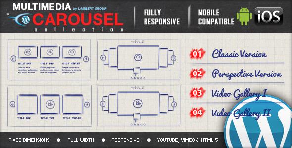 Multimedia Responsive Carousel v1.4
