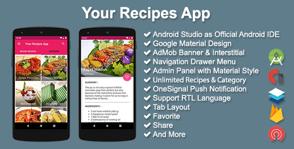 Your Recipes App v2.5.0