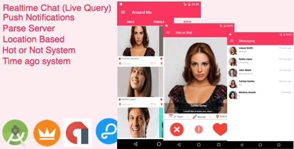 AroundMe – More than a complete Dating App