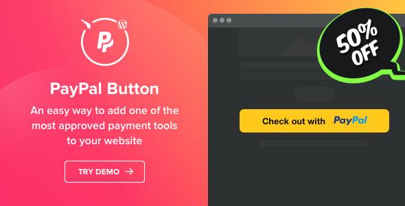 PayPal Button v1.1.0 - WordPress PayPal plugin