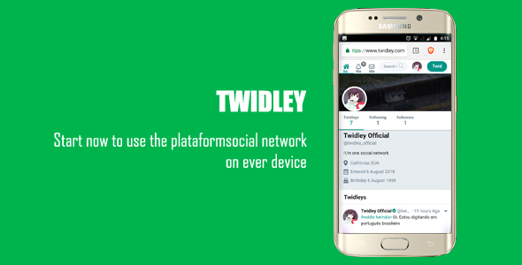Twidley v2.0.1 – The Pro Social Network – nulled