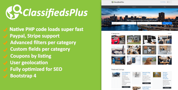 ClassifiedsPlus v1.03 – Classified Ads CMS
