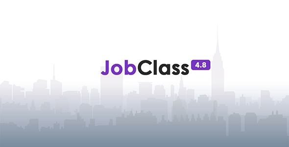 JobClass v4.8 – Job Board Web Application – nulled