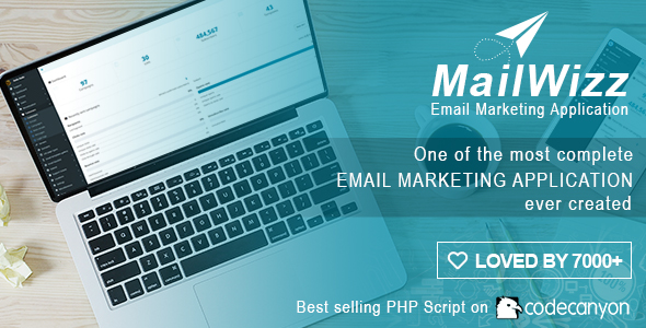 MailWizz v1.7.2 - Email Marketing Application - nulled