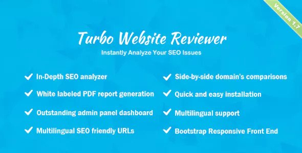 Turbo Website Reviewer v1.7 – In-depth SEO Analysis Tool