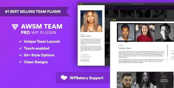 The Team Pro v1.8.0 - Team Showcase WordPress Plugin