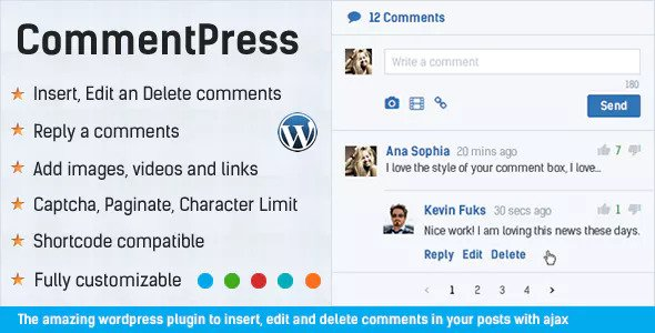 CommentPress v2.6.6 – Ajax Comments, Insert, Edit and Delete
