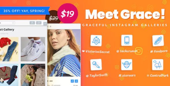 Instagram Feed Gallery – Grace for WordPress v1.1.12