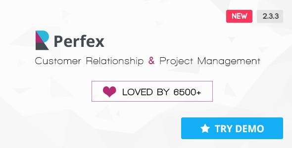 Perfex v2.3.3 – Powerful Open Source CRM