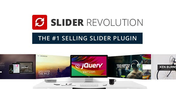 Slider Revolution v5.4.8 – Responsive jQuery Plugin