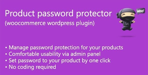Product password protector (woocommerce) v1.6