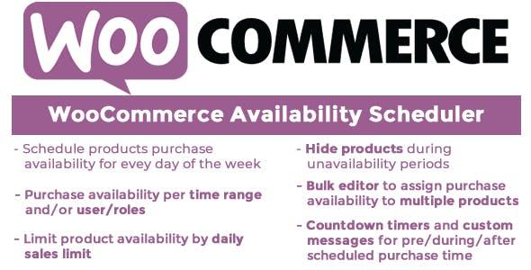 WooCommerce Availability Scheduler v10.7