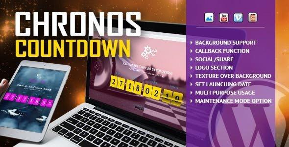 Chronos CountDown v1.0 – Responsive Flip Timer