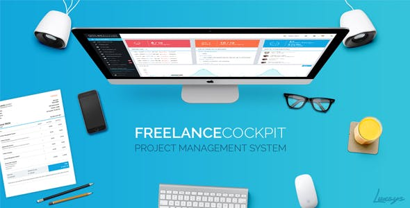 Freelance Cockpit 3.3.1 – Project Management and CRM – nulled