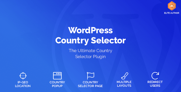 WordPress Country Selector v1.5.5