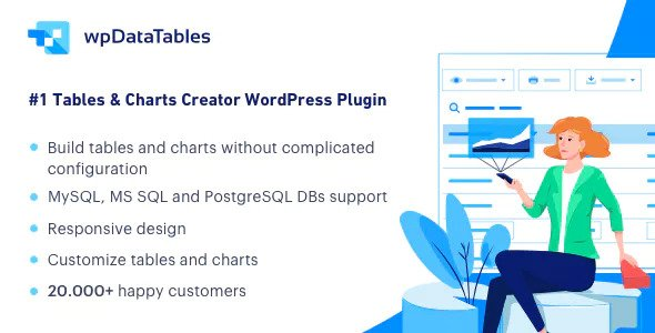 wpDataTables v2.5.1 – Tables and Charts Manager for WordPress