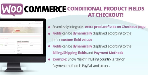 Conditional Product Fields at Checkout v2.3
