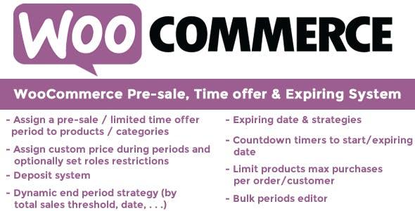Pre-sale, Time offer & Expiring System v9.7