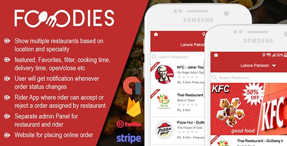 Restaurant Food Delivery & Ordering System With Delivery Boy – Android v1.0.6