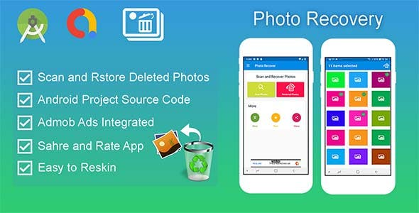 Recover Deleted Photo – Android Source Code