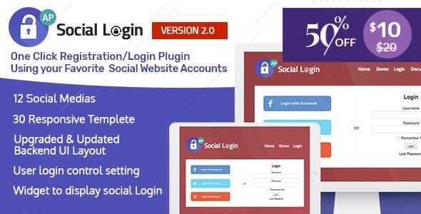 AccessPress Social Login v2.0.0