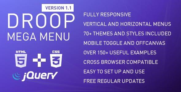 Droop Mega Menu v1.1