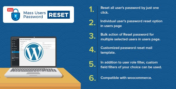 Mass Users Password Reset Pro v1.2