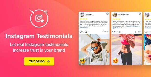 Instagram Testimonials Plugin for WordPress v1.3.0
