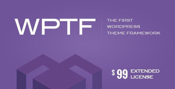 WPTF v1.4.6 – WordPress Theme Framework
