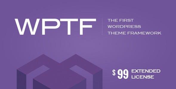 WPTF v1.4.6 – WordPress Theme Framework