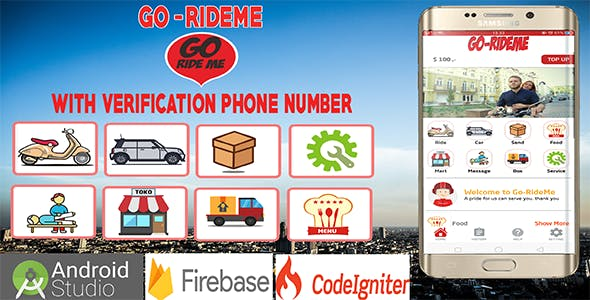 Gorideme – Multi Service Providing App With OTP Verification Phone Number
