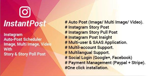 Instantpost v1.4 – Instagram Posting Solution