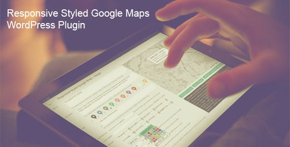 Responsive Styled Google Maps v4.7