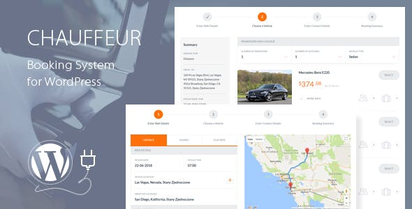 Chauffeur v4.8 – Booking System for WordPress