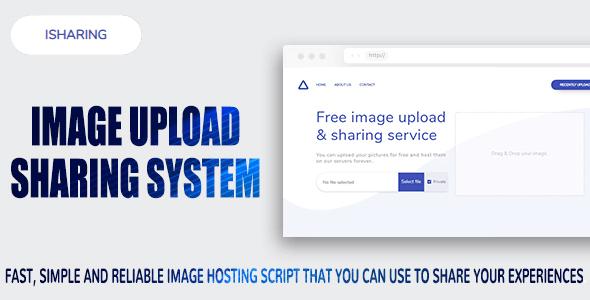iSharing v1.0 – Image Upload & Sharing System