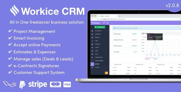Workice v2.0.5 – The Ultimate Freelancer CRM