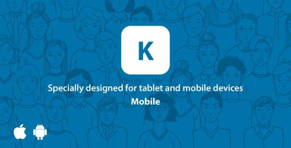 Kontackt – Mobile-Friendly (PHP Social Network) 1.12
