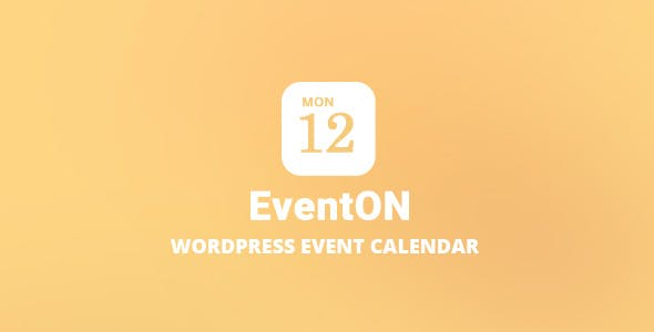 EventOn v2.7.3 - WordPress Event Calendar Plugin