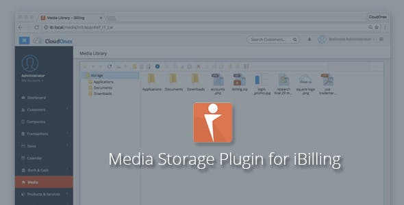 iMedia – Media Manager Plugin for iBilling