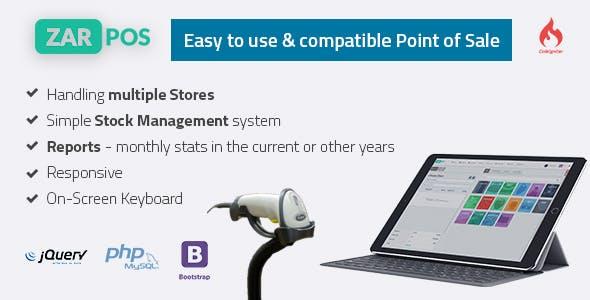 Zar POS v3.0 – point of sale web application