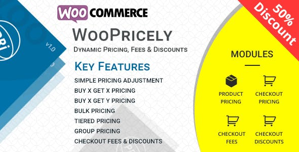 WooPricely v1.2.1 – Dynamic Pricing & Discounts